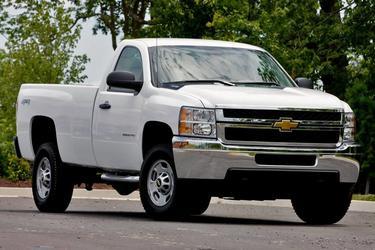 "2013 Chevrolet Silverado 2500HD 2WD CREW CAB 167.7"" WORK TRUCK  NC"