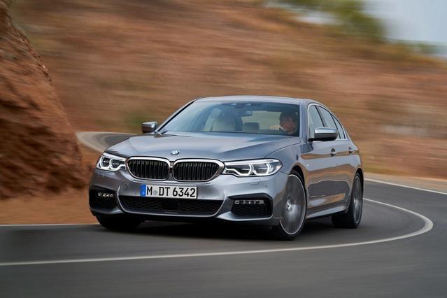2018 BMW 5 Series 530I Sedan Slide 0