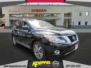 2014 Nissan Pathfinder PLATINUM AWD Jackson Heights New York