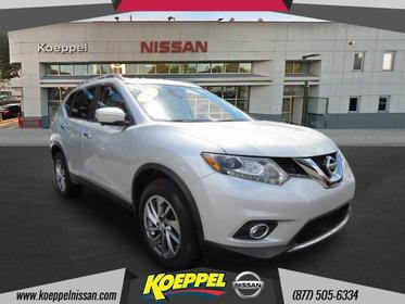 2015 Nissan Rogue SL PANORAMIC MOONROOF NAVIGATION SYSTEM CAMERAS Woodside NY