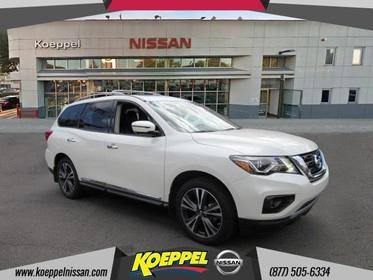 2017 Nissan Pathfinder PLATINUM Jackson Heights New York