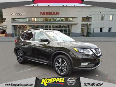2017 Nissan Rogue SL PREMIUM  AWD BLIND SPOT BOSE  NAVIGATION 360CAM Woodside NY