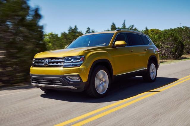 2018 Volkswagen Atlas 2.0T S Sport Utility Slide 0