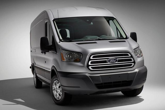 2016 Ford Transit-250  3D Low Roof Cargo Van Slide 0