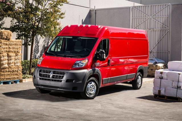 2018 Ram ProMaster Cargo Van LOW ROOF Full-size Cargo Van Slide 0