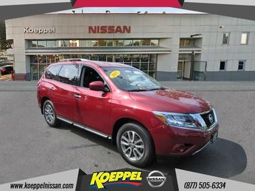 2015 Nissan Pathfinder S 4WD Jackson Heights New York