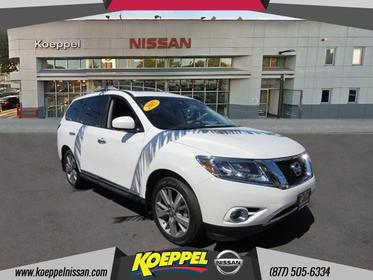 2015 Nissan Pathfinder PLATINUM Jackson Heights New York