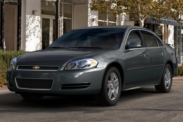 2013 Chevrolet Impala LTZ 4dr Car Slide 0