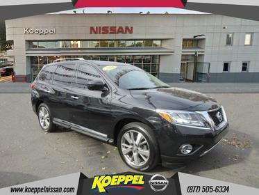 2016 Nissan Pathfinder PLATINUM Jackson Heights New York