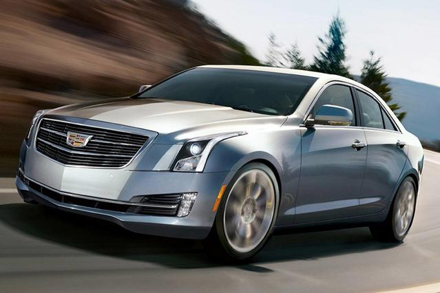 2017 Cadillac ATS 2.0L TURBO LUXURY 4dr Car Slide 0