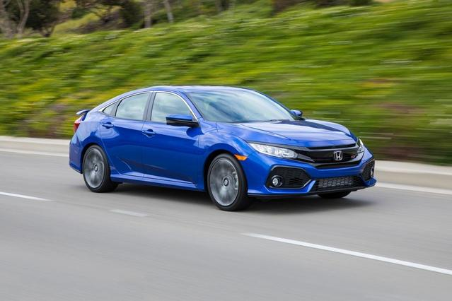 2017 Honda Civic Hatchback LX Hatchback Slide 0
