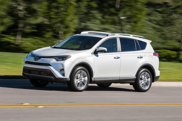 2017 Toyota RAV4 LE Sport Utility Slide 0