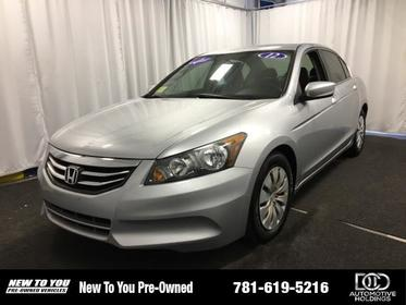 2012 Honda Accord 4DR I4 AUTO LX North Attleboro MA