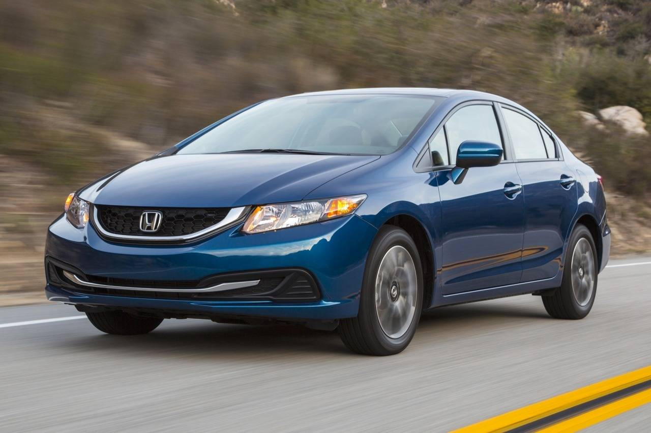 2015 Honda Civic Sedan EX 4dr Car Slide 0