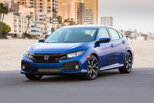 2018 Honda Civic Sedan EX 4dr Car Slide 0