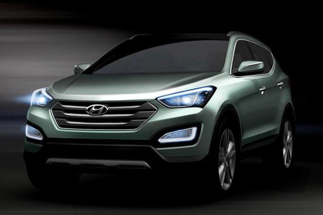 2013 Hyundai Santa Fe SPORT Sport Utility Slide 0