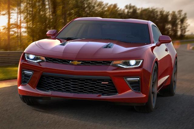 2016 Chevrolet Camaro 1LT 2D Coupe Slide 0