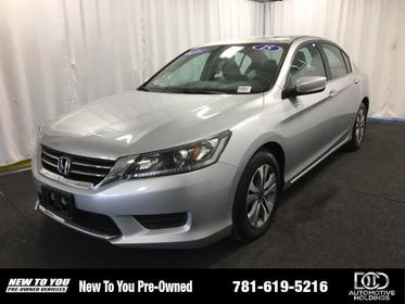 2015 Honda Accord 4DR I4 CVT LX North Attleboro MA