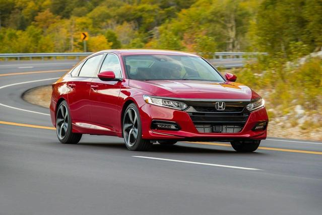 2018 Honda Accord Sedan EX 1.5T 4dr Car Slide 0