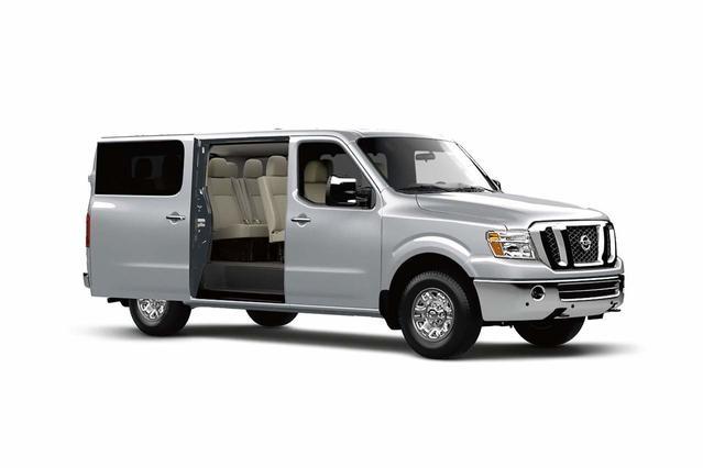 2018 Nissan NV Passenger SL Full-size Passenger Van Slide 0
