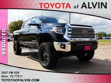 2018 Toyota Tundra LIMITED Alvin TX