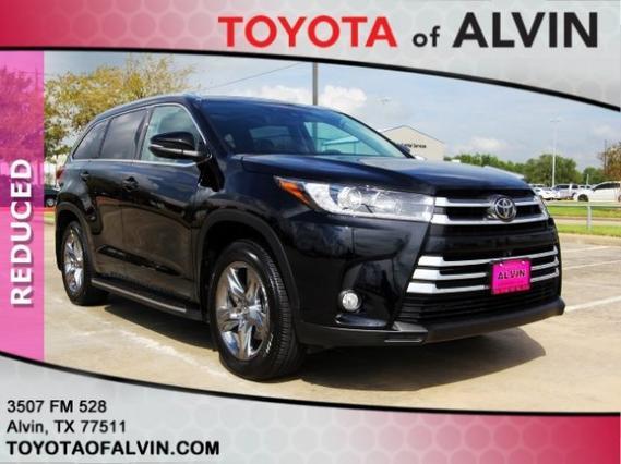 2017 Toyota Highlander LIMITED PLATINUM Alvin TX