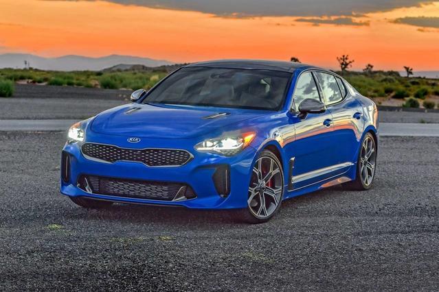 2018 Kia Stinger GT1 Not Specified Meridian MS