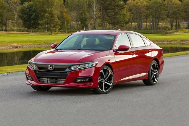 2018 Honda Accord EX CVT