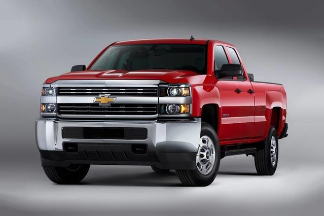 2018 Chevrolet Silverado 2500HD WORK TRUCK Pickup Slide 0