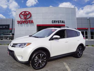 2015 Toyota RAV4 LIMITED AWD Limited 4dr SUV Green Brook NJ