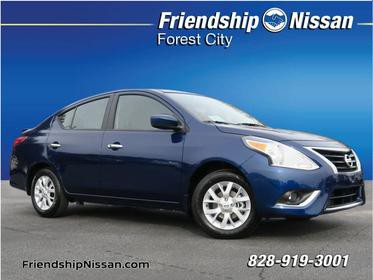 2018 Nissan Versa 1.6 SV SV 4dr Sedan Forest City NC