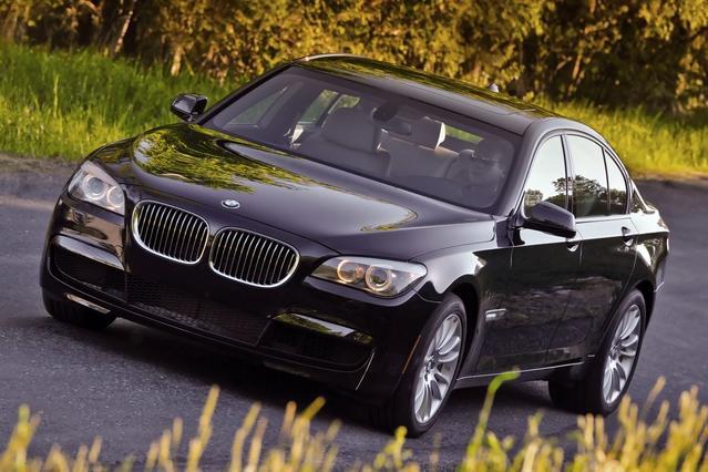 2012 BMW 7 Series 740LI 4dr Car Slide 0