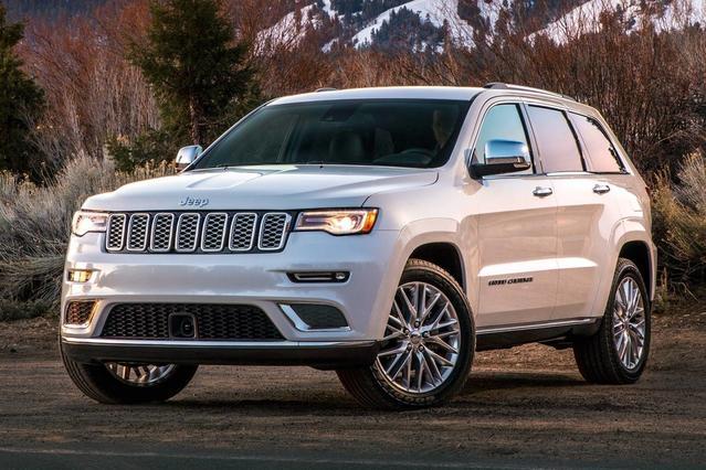 2017 Jeep Grand Cherokee OVERLAND Sport Utility Slide 0