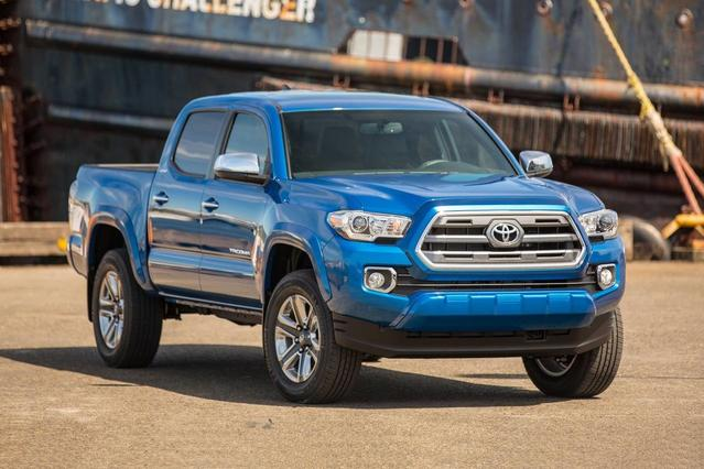 2018 Toyota Tacoma LIMITED Short Bed Slide 0