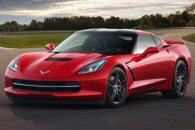 2015 Chevrolet Corvette Z51 3LT 2dr Car Slide 0