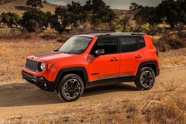2017 Jeep Renegade LIMITED Limited 4dr SUV Slide 0