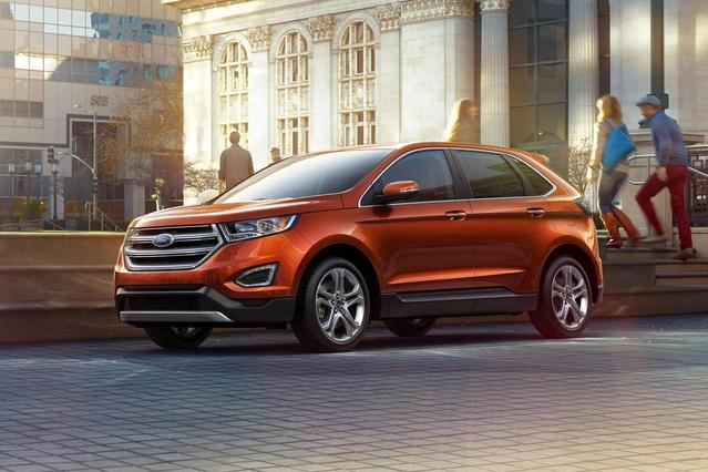 2018 Ford Edge SEL SUV Slide 0