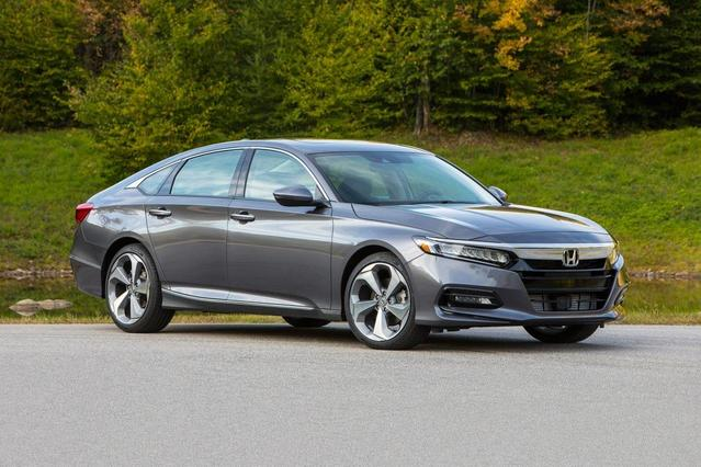 2018 Honda Accord Sedan SPORT 1.5T 4D Sedan Slide 0