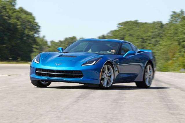 2018 Chevrolet Corvette GRAND SPORT 2LT 2dr Car Slide 0