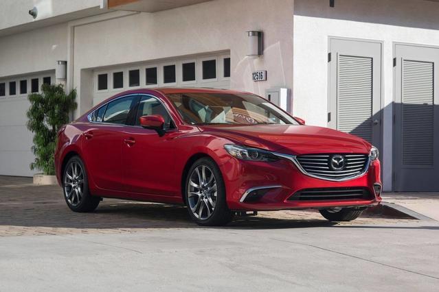 2017 Mazda Mazda6 SPORT 4dr Car Slide 0