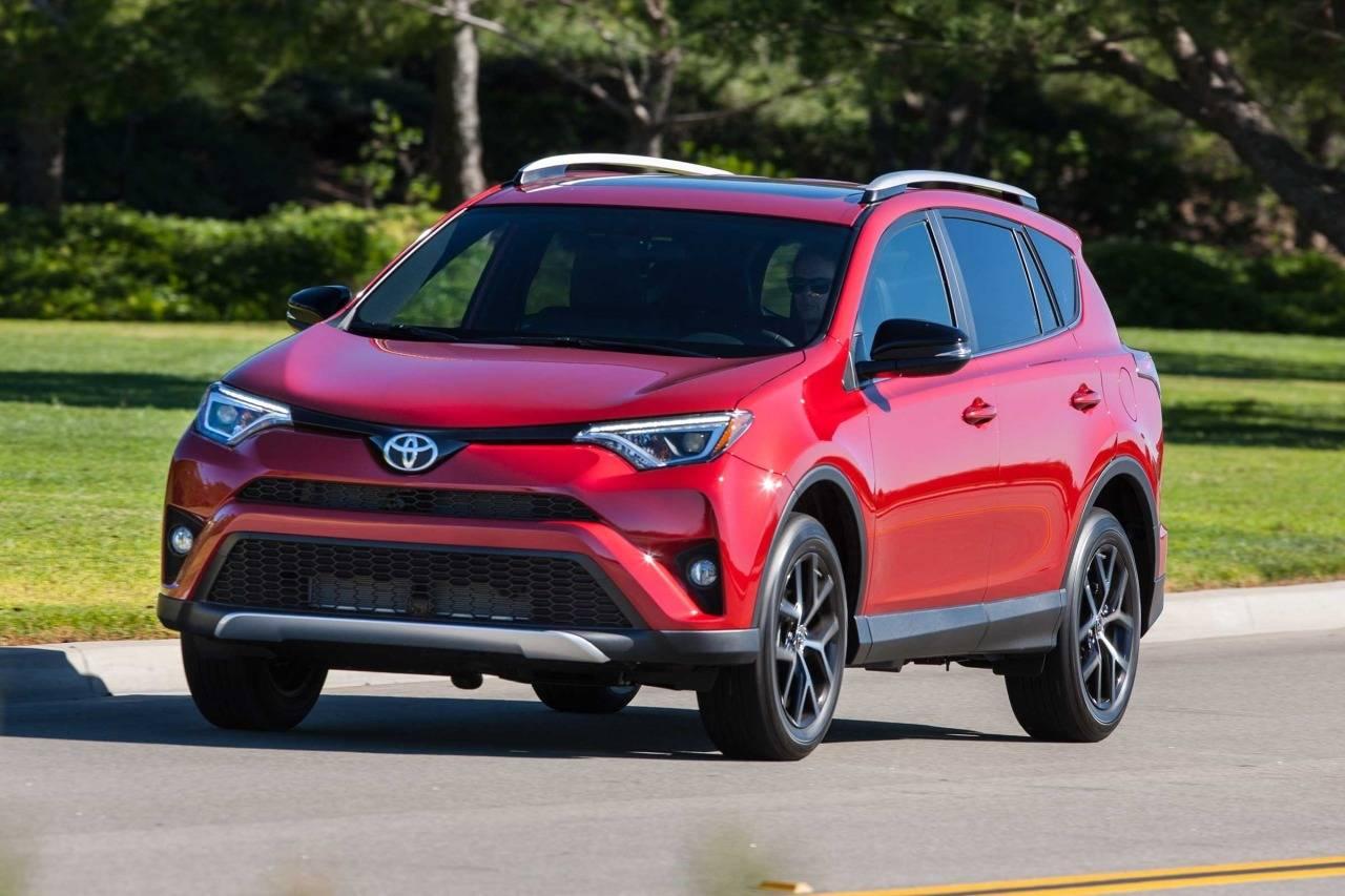 2018 Toyota RAV4 LE Sport Utility Slide 0
