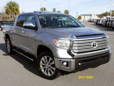 2015 Toyota Tundra LIMITED CREWMAX FFV 4WD Crew Cab Pickup Thomasville GA