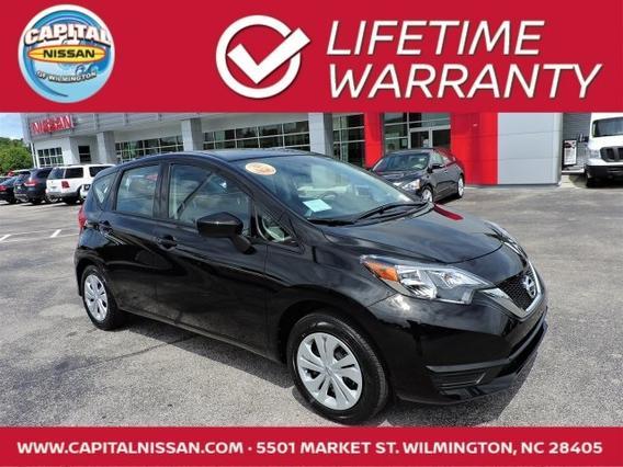 2017 Nissan Versa Note S PLUS 4D Hatchback Wilmington NC