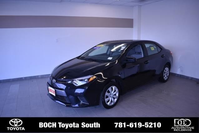 2015 Toyota Corolla LE 4dr Car Norwood MA