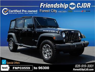 2015 Jeep Wrangler Unlimited UNLIMITED RUBICON 4x4 Rubicon 4dr SUV Forest City NC