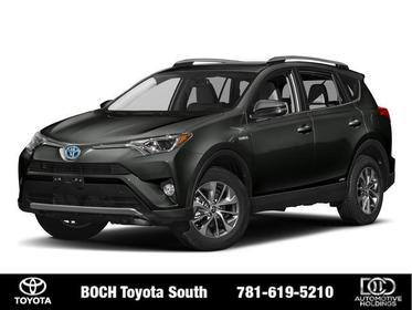 2018 Toyota RAV4 HYBRID XLE AWD Sport Utility North Attleboro MA