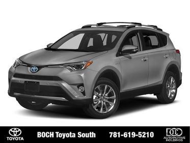 2018 Toyota RAV4 HYBRID LIMITED AWD Sport Utility North Attleboro MA