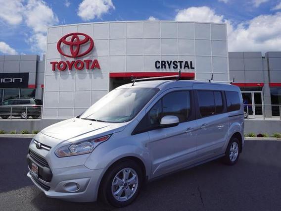 2014 Ford Transit Connect Wagon TITANIUM Titanium 4dr LWB Mini-Van w/Rear Liftgate Green Brook NJ