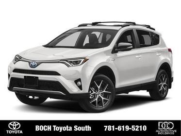 2018 Toyota RAV4 HYBRID SE AWD Sport Utility North Attleboro MA