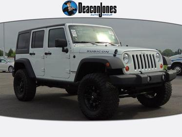 2012 Jeep Wrangler Unlimited 4WD 4DR RUBICON Goldsboro NC